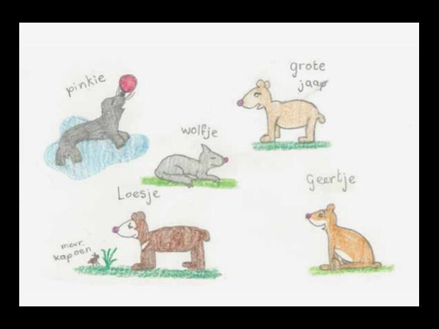 Kaart Honden